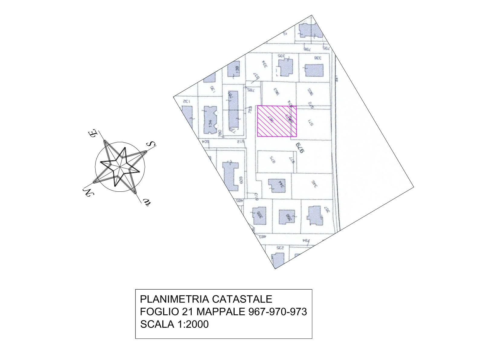 Planimetria castale